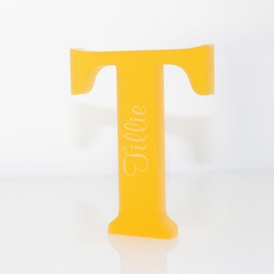 Stand Up Acrylic Letter